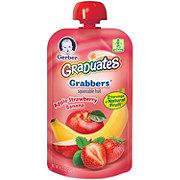 Gerber Graduates Grabbers, Apple Strawberry Banana