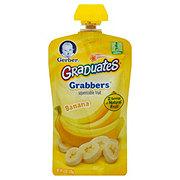 Gerber Graduates Grabbers Squeezable Fruit, Banana