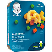 Gerber Graduates Lil' Entrees Macaroni & Cheese with Peas and Carrots