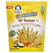 Gerber Graduates Lil' Twists Carrot, Zucchini & Cheddar