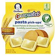 Gerber Graduates Pasta Pick-Ups Sweet Potato & Cheese Ravioli in Mildly Sweet Sauce