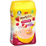 Gerber Hearty Bits Cereal, Strawberry Raspberry