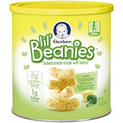 Gerber Lil' Beanies White Cheddar & Broccoli