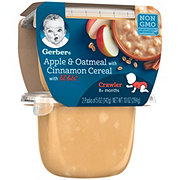 Gerber Lil Bits Apples & Oatmeal With Cinnamon 3rd Foods