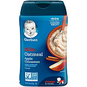 Gerber Lil' Bits Oatmeal Apple Cinnamon Cereal