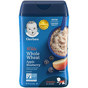Gerber Lil Bits Whole Wheat Apple Blueberry Cereal
