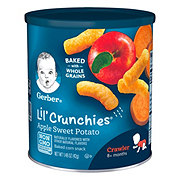 Gerber Lil' Crunchies Apple Sweet Potato