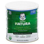 Gerber Natural Stage 1 Organic Infant Formula