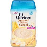 Gerber Oatmeal & Banana Cereal