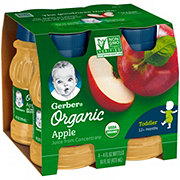 Gerber Organic 100% Apple Juice
