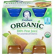 Gerber Organic 100% Pear Juice