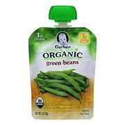Gerber Organic 1st Foods Green Beans