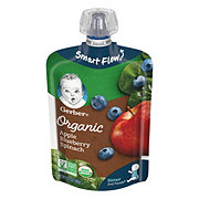 Gerber Organic 2nd Foods Apples Blueberries & Spinach Pouch