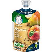 Gerber Organic Fruit & Grain Pear Peach Oatmeal