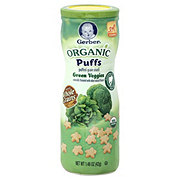 Gerber Organic Green Veggies Puffs