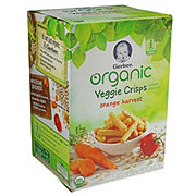 Gerber Organic Veggie Crisps Orange Harvest 5 pack