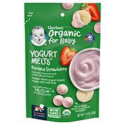 Gerber Organic Yogurt Melts Banana Strawberry