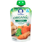 Gerber Organics 2nd Foods Sweet Potato, Squash & Pumpkin Pouch