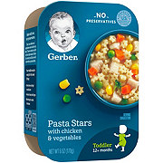 Gerber Pasta Stars with Chicken & Vegetables