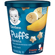Gerber Puffs Banana Cereal Snack Cup