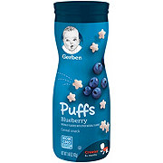 Gerber Puffs Blueberry Cereal Snack