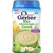 Gerber Rice & Banana Apple Cereal