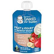 Gerber Smart Flow Strawberry Banana Fruit & Yogurt