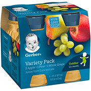 Gerber Variety Pack Fruit Juice