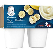 Gerber Yogurt Blends Banana 4 pk