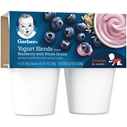 Gerber Yogurt Blends Blueberry with Whole Grains
