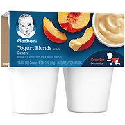 Gerber Yogurt Blends Peach 4 pk