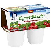 Gerber Yogurt Blends Snack Raspberry Spinach