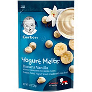 Gerber Yogurt Melts Banana Vanilla