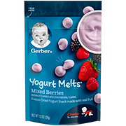 Gerber Yogurt Melts Mixed Berries