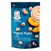 Gerber Yogurt Melts Peach