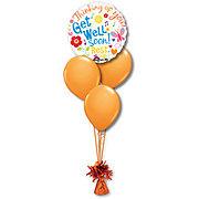 Get Well Petite Balloon Bouquet