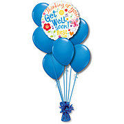 Get Well Small Balloon Bouquet