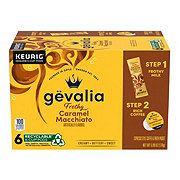 Gevalia Kaffe 2-Step Caramel Macchiato Single Serve Coffee K Cups