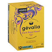 Gevalia Kaffe Dark Royal Roast Dark Roast Single Serve Coffee K Cups