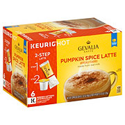 Gevalia Kaffe Pumpkin Spice Latte Single Serve Espresso K Cups