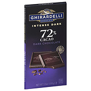 Ghirardelli 72% Cacao Twilight Delight Bar Intense Dark Chocolate