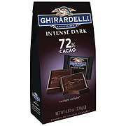 Ghirardelli 72% Cacao Twilight Delight Squares Intense Dark Chocolate