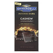 Ghirardelli Cashew Crescendo Intense Dark Bar