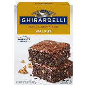 Ghirardelli Chocolate Walnut Brownie Mix