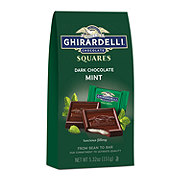 Ghirardelli Dark And Mint Chocolate Squares