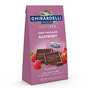 Ghirardelli Dark and Raspberry Chocolate Squares