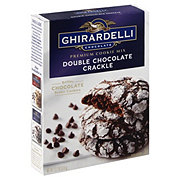 Ghirardelli Double Chocolate Crackle Cookie Mix
