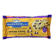 Ghirardelli Grand Chips Semi Sweet Chocolate Baking Chips