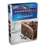 Ghirardelli Milk Chocolate Premium Cake Mix