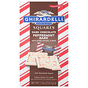 Ghirardelli Squares Squares Limited Edition Peppermint Bark Dark Chocolate